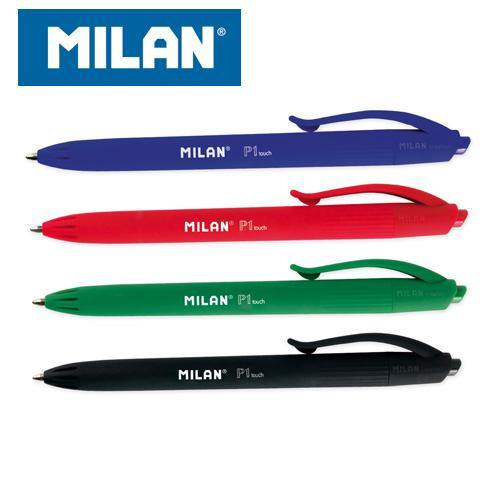 BOLÍGRAFO MILAN P1 TOUCH RETRACTIL PUNTA MEDIA (1,0mm) TRAZO (0,4mm) - Papereria Rocher