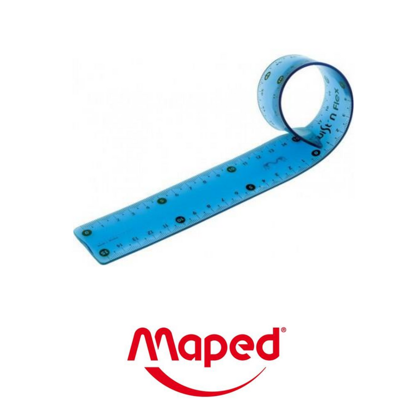 REGLA MAPED FLEXIBLE 15cm - Papereria Rocher