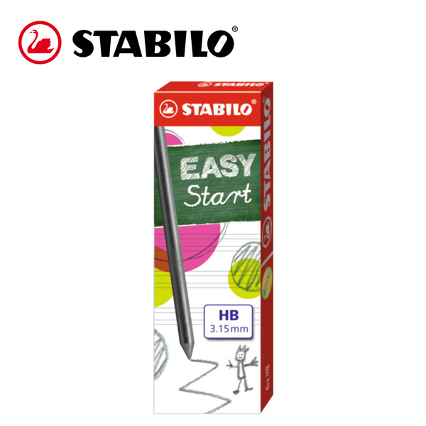 MINAS STABILO EASY START - 3,15mm HB - Papereria Rocher