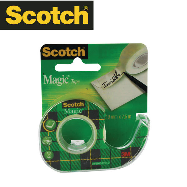 CINTA ADHESIVA SCOTCH MAGIC - 19 mm X 7.5 mm