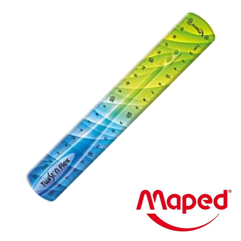 REGLA MAPED FLEXIBLE 30cm - Papereria Rocher
