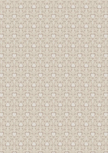 Lewis & Irene Michaelmas--Hearts on Linen<br><STRONG>$9.96/YARD</strong><br>$2.49/Quarter Yard