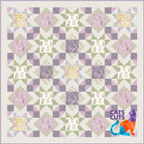 Botanic Garden Throw Size Quilt Kit<br><strong>Click for more color options</strong>