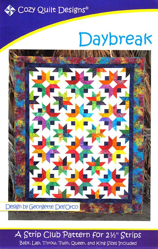 Cozy Quilt Designs Daybreak Pattern Click for fabric requirements