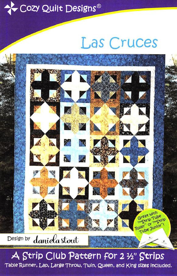 Cozy Quilt Designs Las Cruces Pattern <BR> Click for fabric requirements