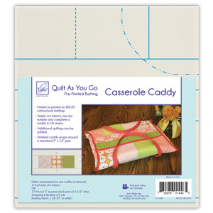 June Tailor Quilt As As You Go Casserole Caddy