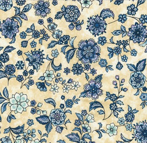 Robert Kaufman Calista Pearl--Medium Floral on Cream<br><STRONG>$9.96/YARD</strong><br>$2.49/Quarter Yard