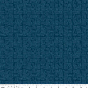 Riley Blake Dream Weaver--Navy Weave<br><STRONG>$9.96/YARD</strong><br>$2.49/Quarter Yard