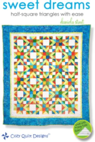 Cozy Quilt Designs Sweet Dreams Pattern <br> Click for fabric requirements