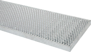 300mm W x 100mm D Galvanised Driveway Channel and Grates