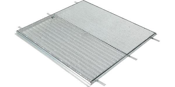 900mm x 900mm Galvanized Hinged & Lockable Frame & Grate