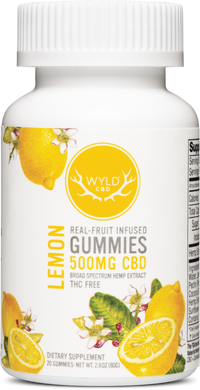 Lemon Gummies 500mg