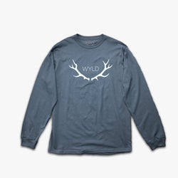 Pacific Blue Long Sleeve Tee