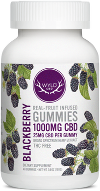 Blackberry Gummies 1000mg