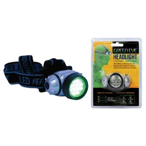 Green Eye LED Headlight (100/Cs)