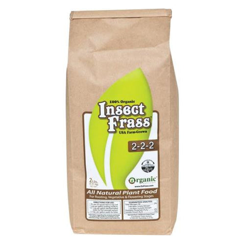 Organic Nutrients Insect Frass 5 lb (6/Cs)