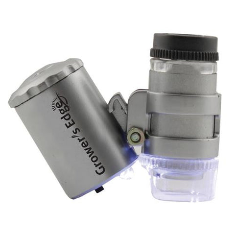Grower's Edge Illuminated Microscope 60x (20/Cs)