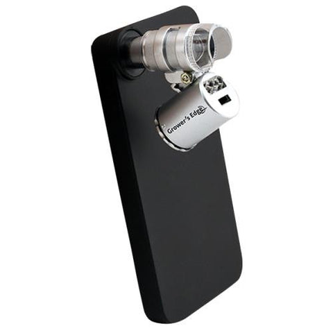 Grower's Edge iPhone 4/4S Case w/ LED Pocket Microscope 60x (10/Cs)