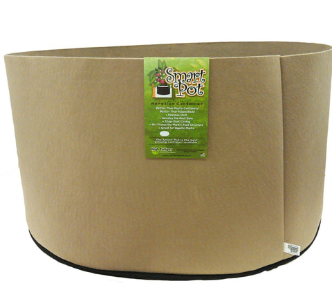 "200 Gal Smart Pot TAN 50""x12"" Squat Size"