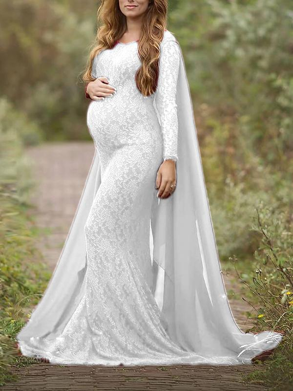 Noumode robe longue grossesse moulante sirene shooting photo enceinte