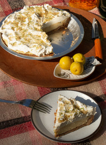 passionfruit-lime icebox pie