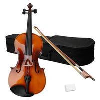 "15"" Acoustic Viola Case Bow Rosin Brown"
