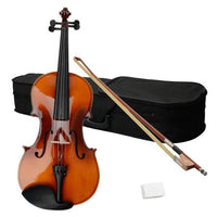 "16"" Acoustic Viola Case Bow Rosin Brown"
