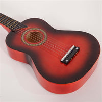"25"" Acoustic Guitar Pick String Red"