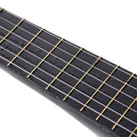 "23"" Acoustic Guitar Pick Strings Black"