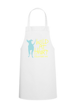 Load image into Gallery viewer, Adult Recycled Unisex Apron w/ Pockets- White