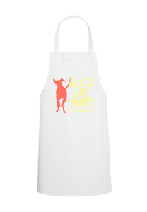 Adult Recycled Unisex Apron w/ Pockets- White