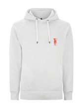 Load image into Gallery viewer, Adult Unisex Hoody Side Pockets- White