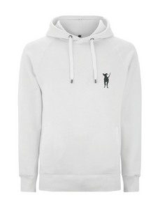 Adult Unisex Hoody Side Pockets- White
