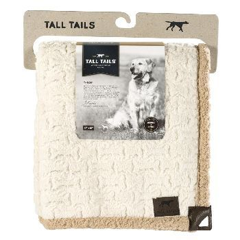 Tall Tails Blanket Micro Sherpa 40X60 Cream Bone