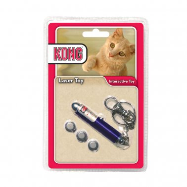 Kong Laser Toy Cat Blue