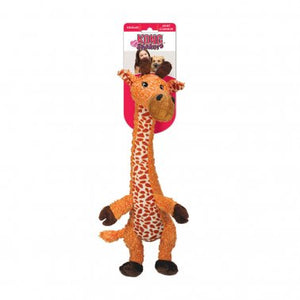 KONG® Shakers™ Luvs Giraffe Dog Toy Orange Small