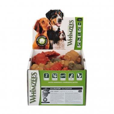 Whimzees™ Large Gluten Free Alligator Dog Dental Chews