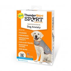 ThunderShirt® Sport Anxiety Jacket for Dog Platinum Color Small