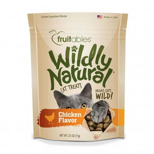 Fruitables® Wildly Natural® Chicken Flavor Cat Treats 2.5 Oz