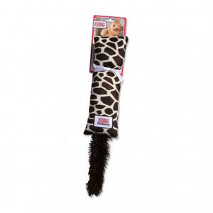 KONG® Kickeroo™ Pattern #1 Giraffe Print Cat Toy Small
