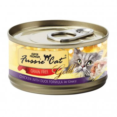 Fussie Cat® Grain Free Chicken With Duck Formula In Gravy Cat Food 2.8 Oz
