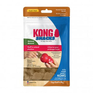 KONG® Snacks™ Peanut Butter Dog Treat Brown Small