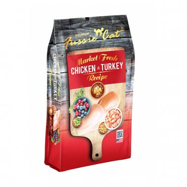 Fussie Cat® Market Fresh Chicken & Turkey Recipe Premium Cat Food 4 Lbs