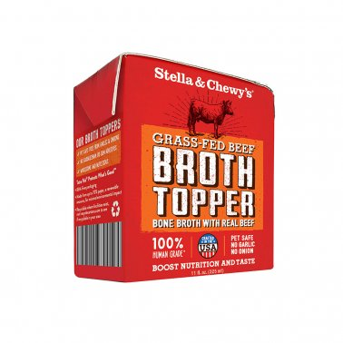 Stella & Chewy's® Grain Free Grass-Fed Beef Broth Topper Dog Food 11 Oz