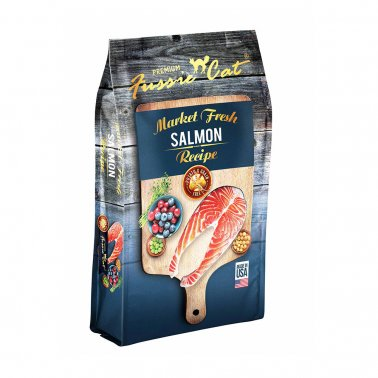 Fussie Cat® Market Fresh Salmon Recipe Premium Cat Food 4 Lbs