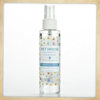 Pet House Room Spray Sunwashed Cotton 4 oz