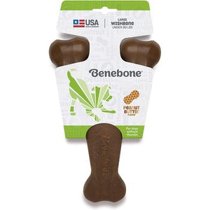 Benebone Wishbone Large Peanut Butter