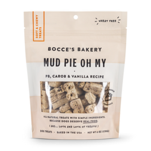Bocce's Bakery Everyday Soft & Chewy Mud Pie Oh My 6 oz Bag