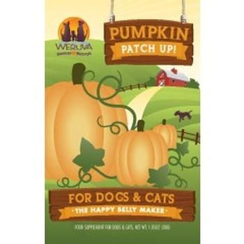Weruva Pumpkin Patch Up!, Pumpkin Puree Pet Food Supplement for Dogs & Cats, 1.05oz Pouch