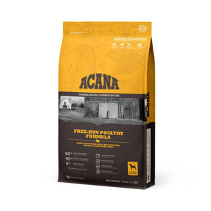 ACANA Free-Run Poultry Formula with Free-Run Chicken & Turkey and Cage-Free Eggs Dog Food